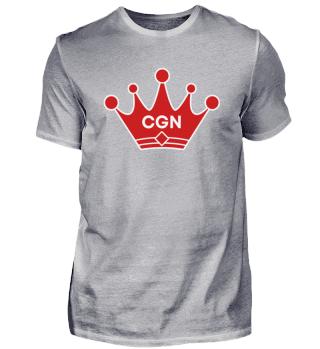CGN mit roter Krone Herren Shirt