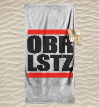 OBRLSTZ - Oberlausitz Badetuch