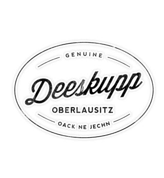 Deeskupp - Oberlausitz Aufkleber