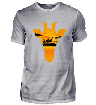 Giraffe Safari Tour Afrika Geschenk