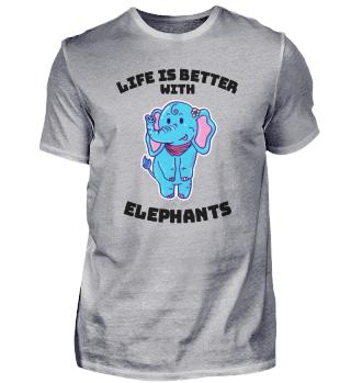 Elefant Leben schön Geschenk