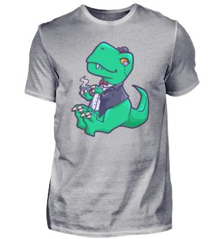 TeaRex Tyrannosaurus gentleman Dino