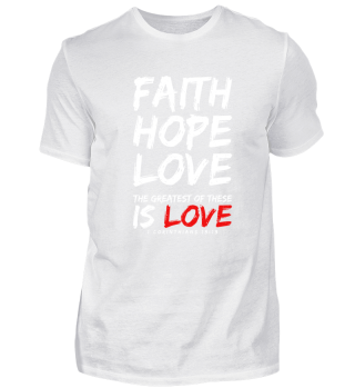 FAITH HOPE AND LOVE VALENTINE'S DAY FOR