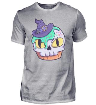 Skull muffin cake Halloween
