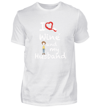 I love red wine and my husband