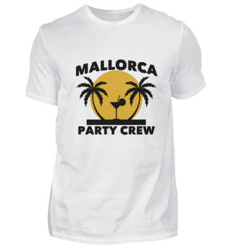 Mallorca Party Crew Party Gift Palms