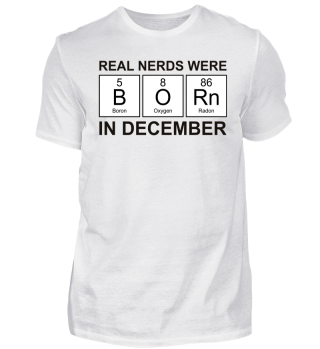 Periodic Elements - BORN december black