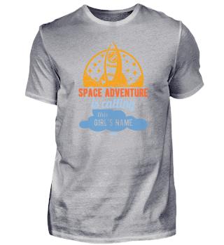 Abeneteuer Weltraum Raumschiff Mädchen