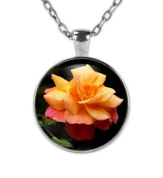 Kette Gelbe Rose