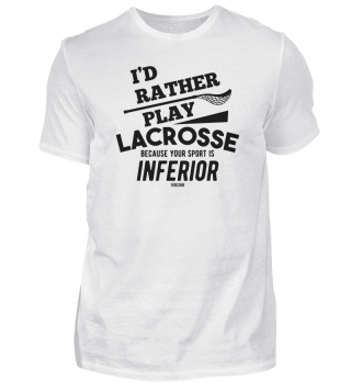 Lacrosse saying