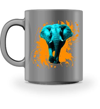 Elefant in Türkis - Accessoires