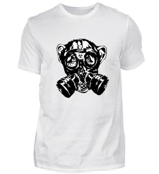 Monkey Gas Mask