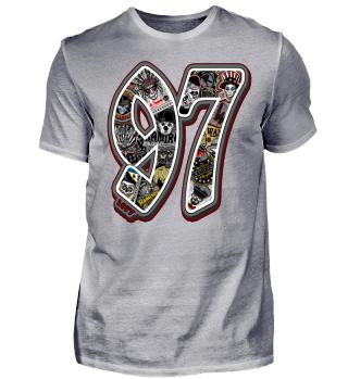 Herren Kurzarm T-Shirt 97 Ramirez