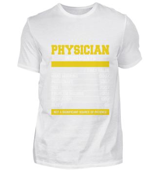 Amazing Physician Ingredients Tee