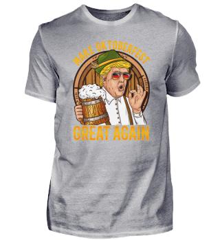 Make Oktoberfest Great Again Beer Trump