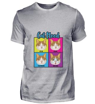 D007-0027 Funny Cat Moods / Katzen Laune