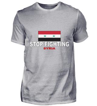 Stop Fighting Syrien Weltfrieden Politik