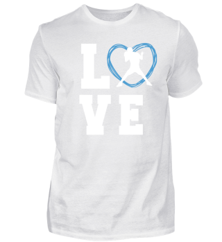 I LOVE TABLE TENNIS TSHIRT for your brot