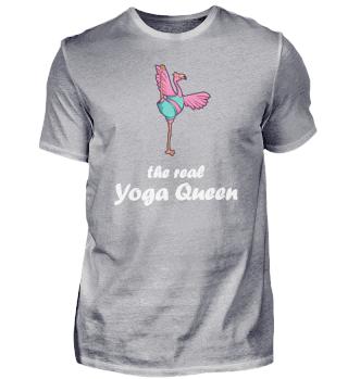 Flamingo Yoga Königin