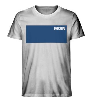Moin ozeanblau - Herren Bio Shirt