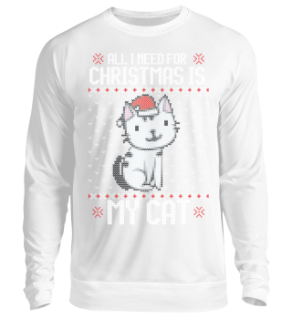 Ugly Christmas Sweater - Catmas