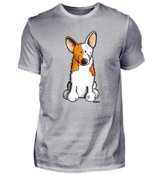 Lustiger Welsh Corgi Cardigan I Hund