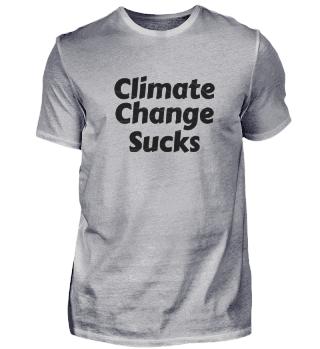 Climate Change Sucks