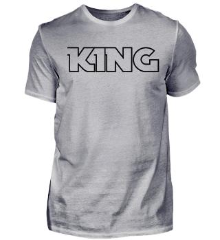 KING Tshirt Valentinstagsgeschenk