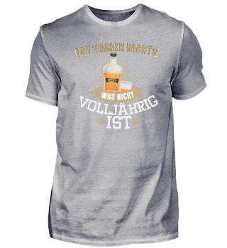 Geschenk Whiskey Whisky: Nur Volljährig