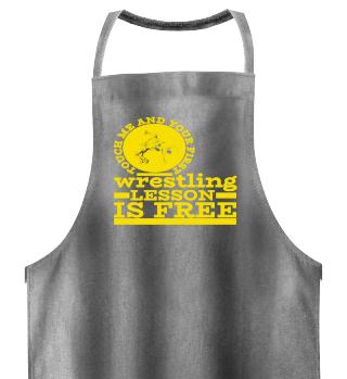 Wrestling Wrestler Grappling Combat Gift