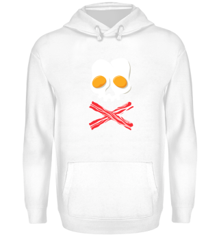 Bacon And Eggs Skull Crossbones