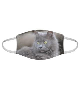 Gesichtsmaske mit Katzenmotiv 20.12