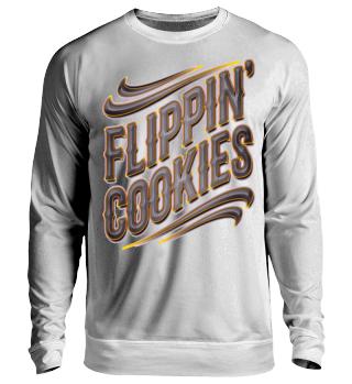 Herren Langarm Shirt Flippin' Cookies Ramirez