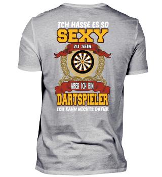 Ich spiele Dart & bin sexy.