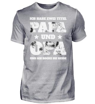 Papa und Opa
