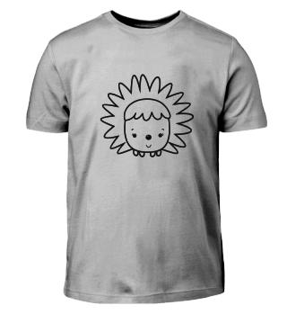 Ausmal Shirt -Igel-