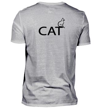 Stylish cat design T-Shirt