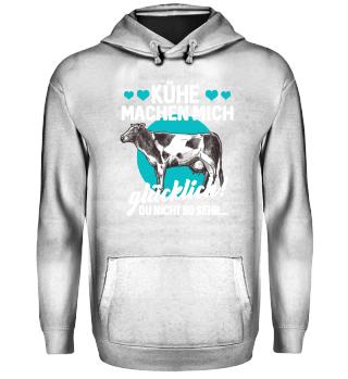 Kuh Rinder Landwirt · machen glücklich