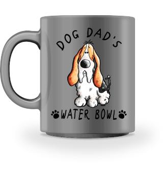 Basset Dog Dad's Bowl I Mug