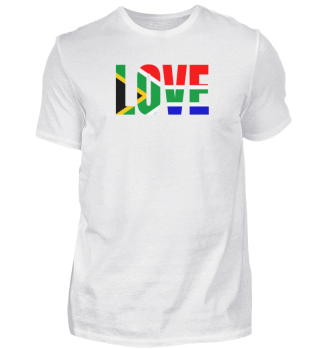 South Africa Love Flag