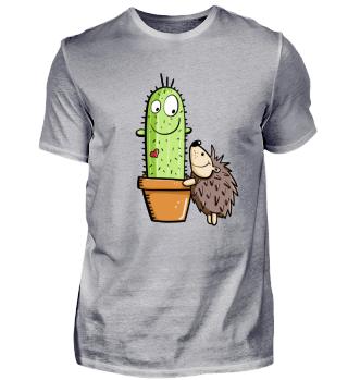 Igel Und Kaktus In Love I Comic Fun