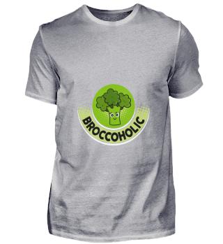 D001-0621A Vegetarier Vegan - Broccoholi