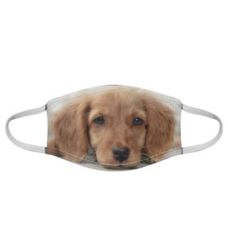 Gesichtsmaske mit Hundemotiv 20.6