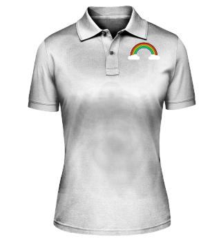 Rainbow Cloud - Men Women T Shirt