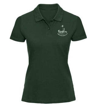 MGG 1928 Damen Polo Bottle Green
