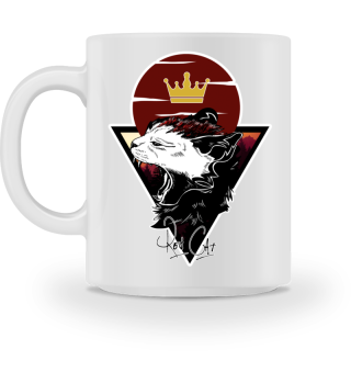 Red Cat Logo Tasse
