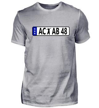 Nummernschild 48