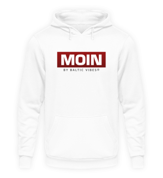 Moin boxed rot Hoodie