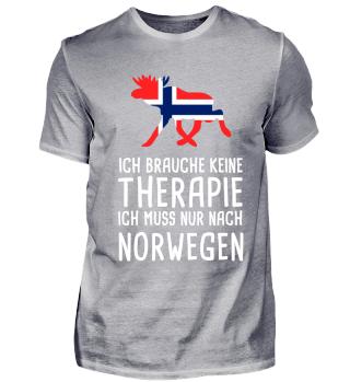 Ich brauche keine keine Therapie Norwegen Urlaub