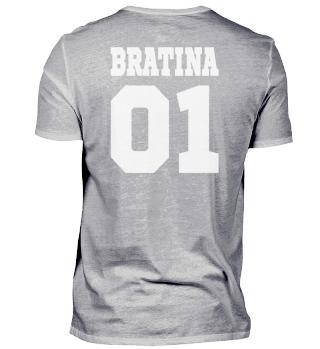 BRATINA 01 SISTER - Funny Russian Gift